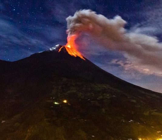South America volcano showing signs of 'potential collapse', Report