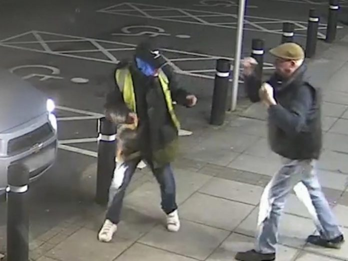 Trevor Weston, 77, fought off an armed robber outside Sainsbury's