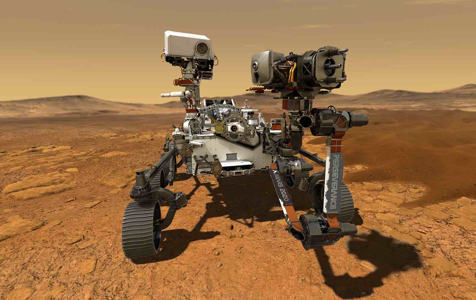 NASA's newest Mars rover gets a name: Perseverance