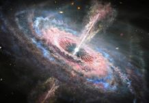 Quasar tsunamis rip through space (Study)