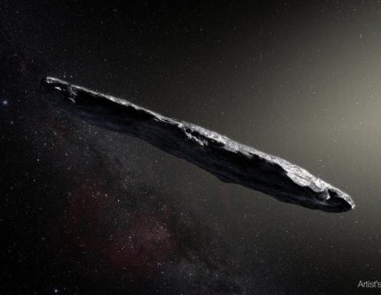 Oumuamua might be a shard of a broken planet (Study)