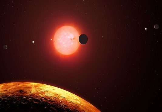 Astronomers discover new star and planet that are 'mirror image' of Earth and Sun