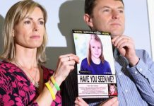 Madeleine McCann's parents believe new suspect, Report