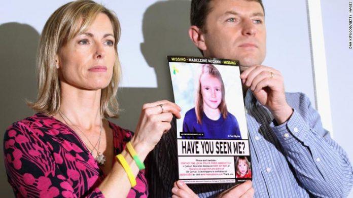Madeleine McCann's parents believe new suspect, Report