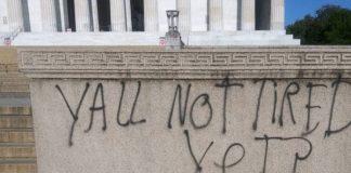 National World War II Memorial Vandalized, Report