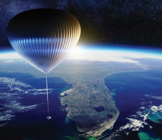 New company plans space tourism flights in high-altitude balloon