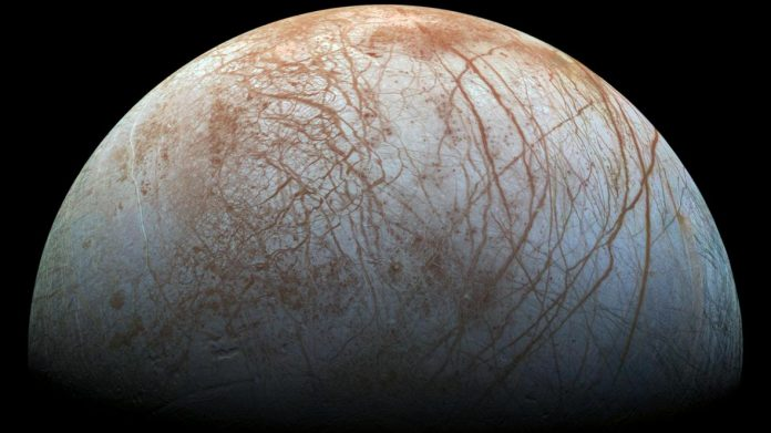 Researchers say alien life may live on Jupiter's moon Europa
