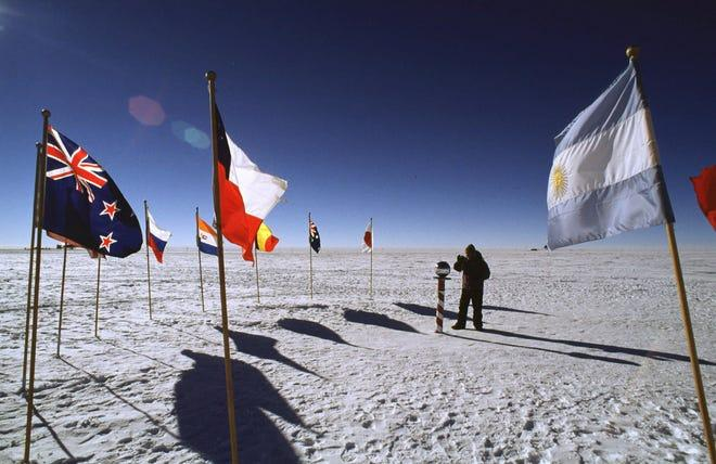 Scientists discover record warming at the South Pole over the past 3 decades