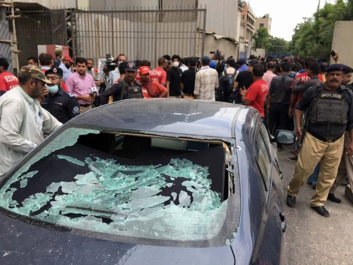Six Killed In Attack On Pakistan Stock Exchange, Report