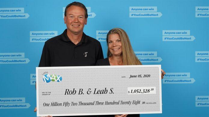 Summerland couple Lotto Max win