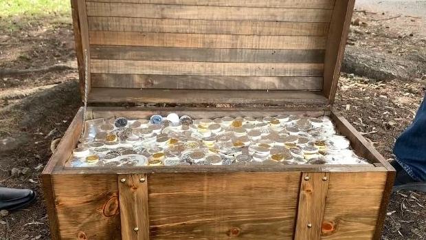 Treasure hunt suspended for fraudulent activity, Report