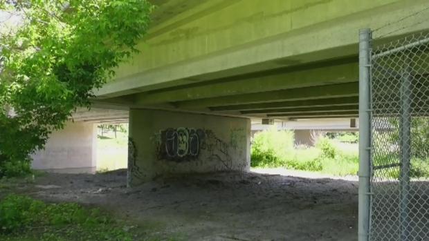Winnipeg installs noise deterrents to prevent homeless camps