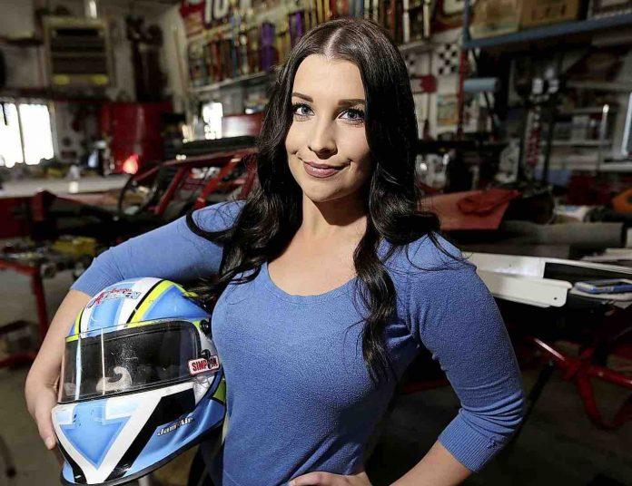 Amber Balcaen: Winnipeg driver injured in race