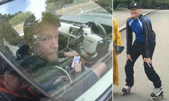 Guy Ritchie handed driving ban after being filmed texting at wheel by Hyde Park cyclist, Report