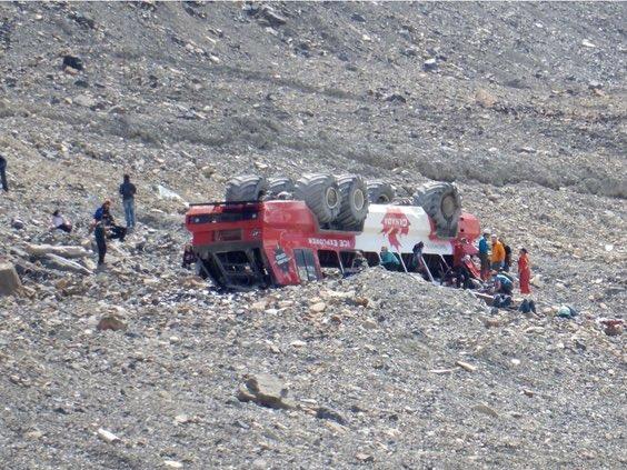 Police: Three dead after motor coach rollover near Jasper