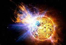 Researchers catch massive stellar flares on nearby small star AD Leonis