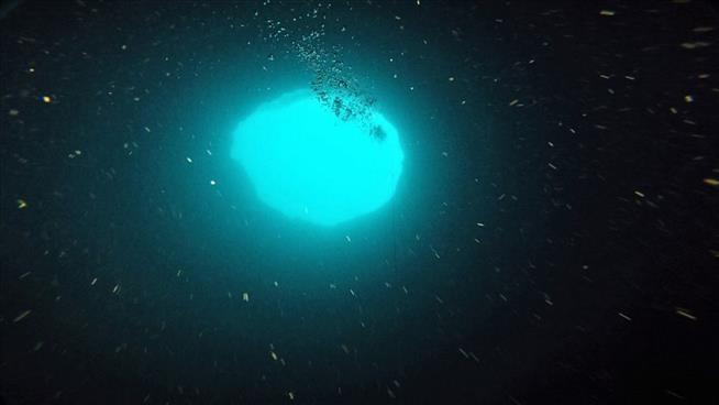 Researchers flock to mysterious 'blue hole' off Florida's Gulf Coast