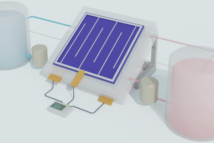 Study: Solar flow battery efficiently stores renewable energy in liquid form