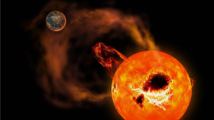 Superflare Detected to Come From Nearby Red Dwarf Star (Study)