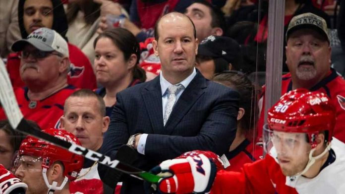 Capitals fire head coach Reirden, Report