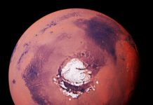 Early Mars was covered in ice sheets according to researchers