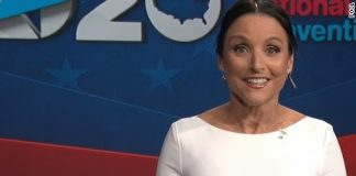 Julia Louis-Dreyfus Emcees Democratic Convention (Video)