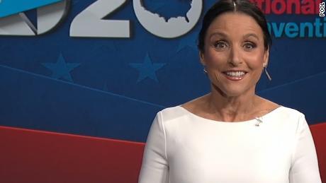 Julia Louis-Dreyfus Emcees Democratic Convention (Video)