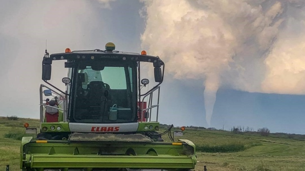Manitoba community mourns two teens killed in tornado