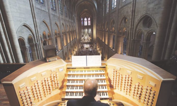 Notre Dame Cathedral's organ getting 4-year-long cleaning, Report