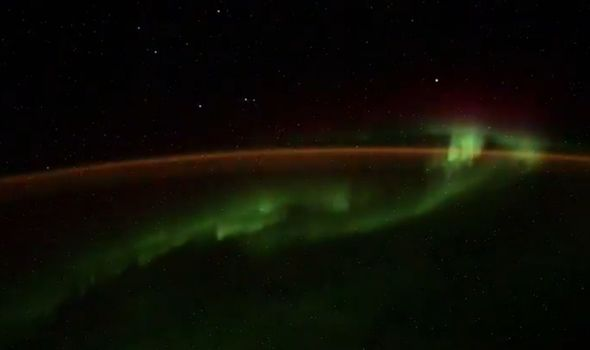 Picture: Russian cosmonaut captured '5 UFOs' hovering over Earth while filming on ISS