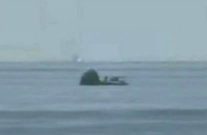 SpaceX capsule and NASA crew make 1st splashdown in 45 years, Report