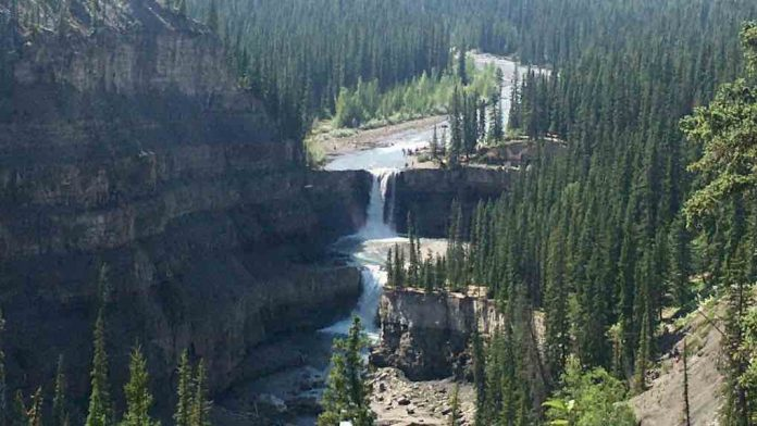 Three family members drown at popular waterfall in central Alberta