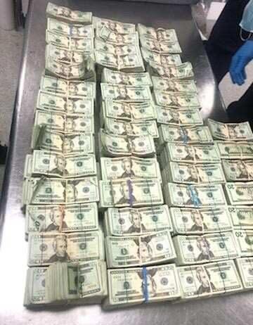 Customs at Miami airport seizes money hidden in furniture (Picture)