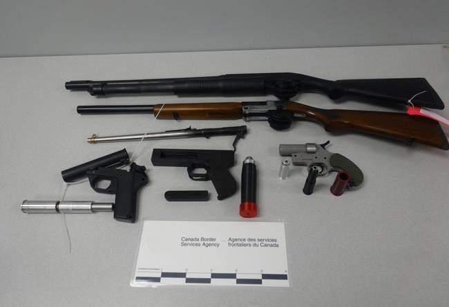 Halifax-area man faces numerous charges over alleged weapons smuggling, Report