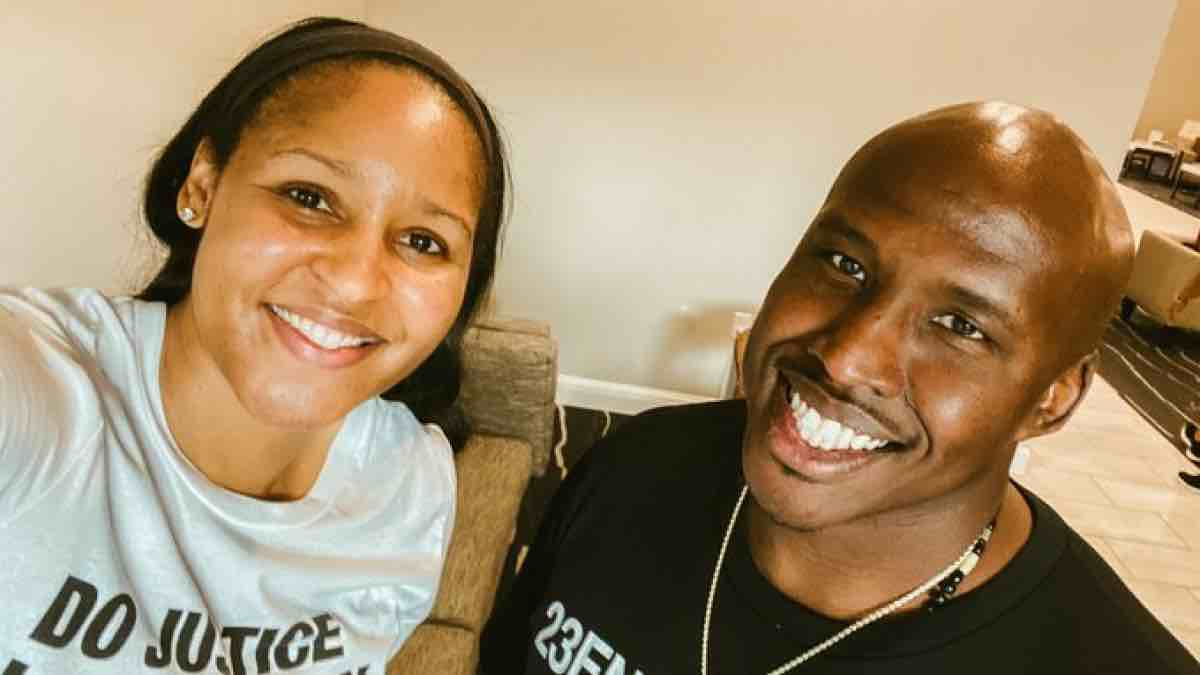 Maya Moore marries the man she helped free from prison