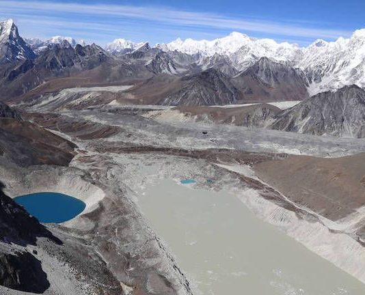 New survey: Lakes formed from melting glaciers increase 50 percent in just 30 years