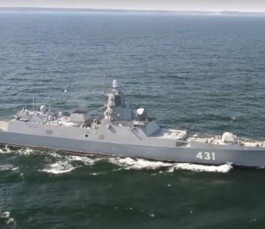 Russian navy vessel, container ship collide in Danish waters, Report