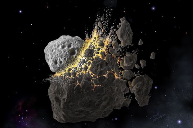 Two asteroids safely buzzed close by Earth this week