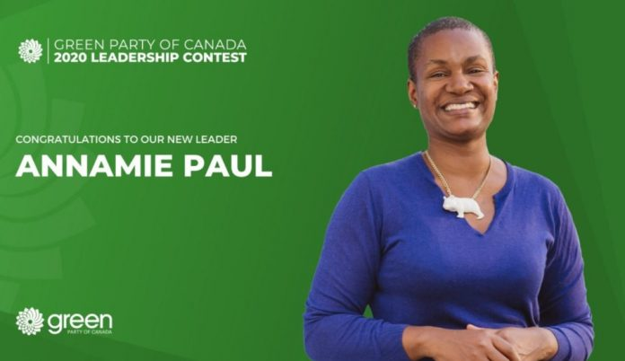 Annamie Paul elected new Green Party leader, Report