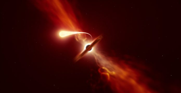 Black Hole Causes 'Disruption Event' After Eating Star, says new research