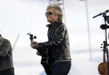 Bon Jovi campaigns with Joe Biden in Pennsylvania (Video)