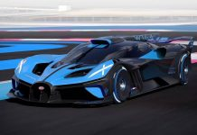 Bugatti's New Hypercar Concept Is a Rocket With 1,825 Horsepower, Report