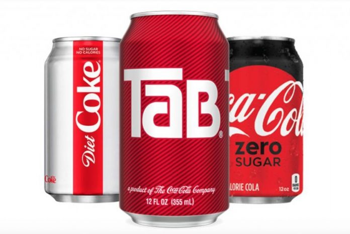Coca-Cola is calling time on iconic diet soda Tab, Report