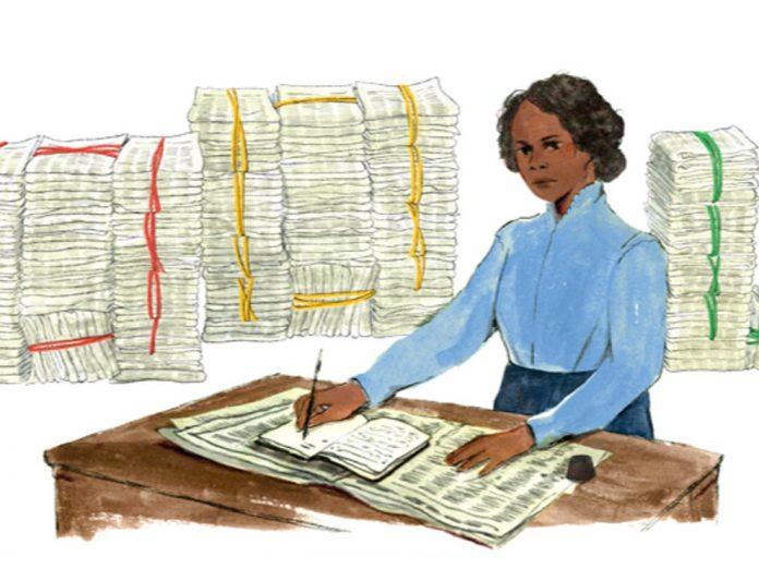 Google Doodle honors American-Canadian teacher Mary Ann Shadd Cary