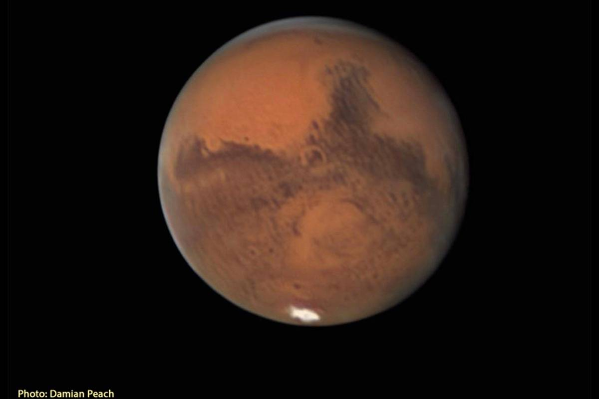 Look up: Mars will be at its brightest on Wednesday