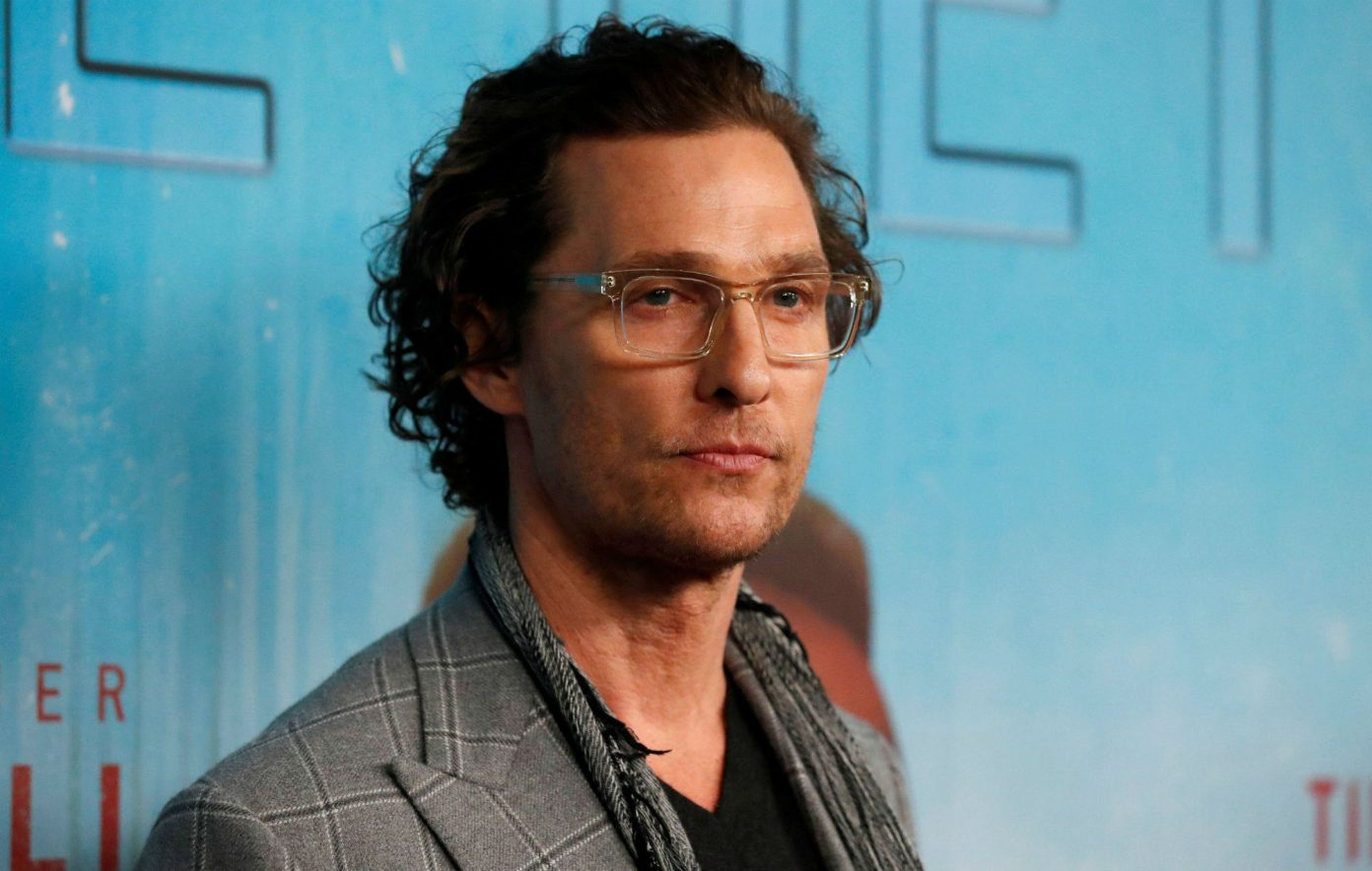 Matthew McConaughey Reveals He Was Sexually Abused As A Teenager