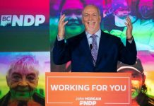 NDP Wins Majority Government In British Columbia Election, Report