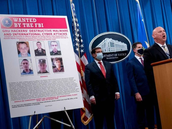 US Charges Russian Intelligence Officers in Major Cyberattacks, Report
