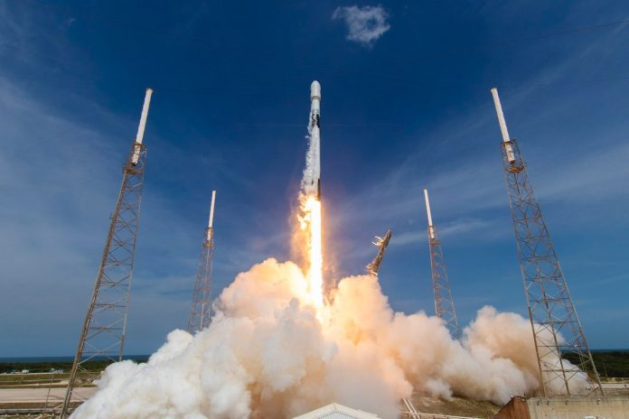 Watch: Falcon 9 launch timeline with the GPS 3 SV04 navigation satellite