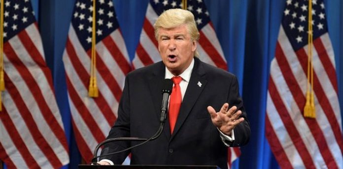 Alec Baldwin Jokes About Being 'Out of a Job' on 'SNL' After Trump Loses Election (Watch)